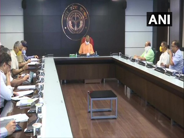 CM Yogi Adityanath chaired a meeting with 'COVID-19 management Team-11'.