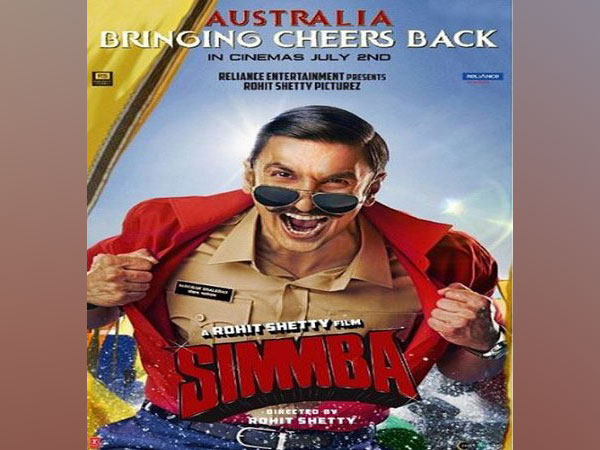 Poster of Simmba (Image courtesy: Instagram)