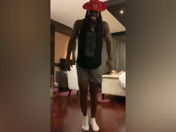 Punjab Kings batsman Chris Gayle  (Image: Punjab Kings' Twitter)