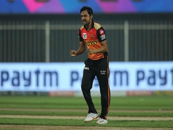 Sunrisers Hyderabad (SRH) spinner Shahbaz Nadeem (Image: BCCI/IPL)