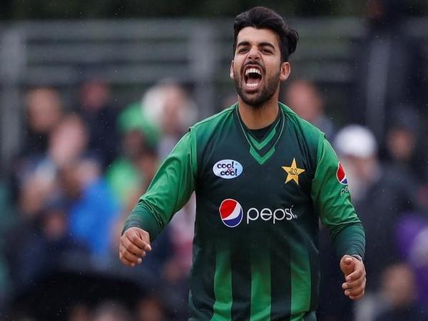 Pakistan leg-spinner Shadab Khan