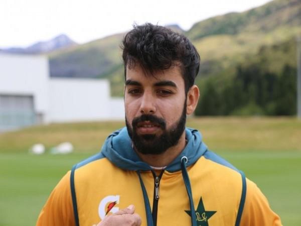 Pakistan all-rounder Shadab Khan (Photo/ PCB Media Twitter)
