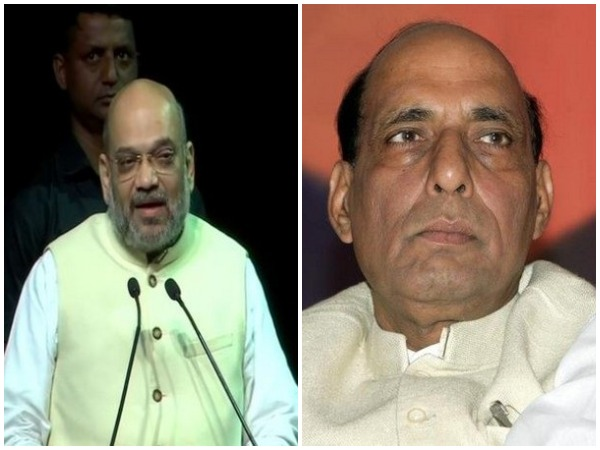 Union Home Minister Amit Shah and Defence Minister Rajnath Singh (Photo/ANI)