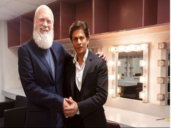 David Letterman and Shah Rukh Khan (Image courtesy: Instagram)