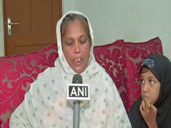 Sultana Begum speaking to ANI about her daughter's ordeal in Oman.