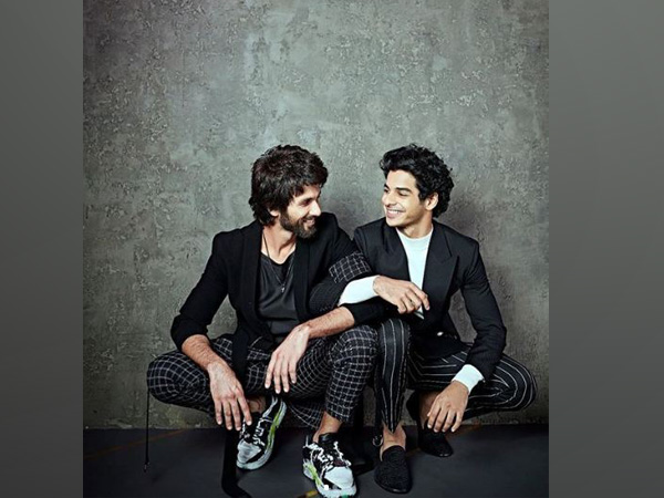 Shahid Kapoor and Ishaan Khatter (Image source: Instagram)