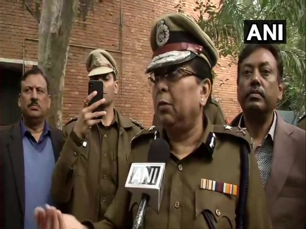 Shalini Singh, Joint Commissioner of Delhi Police speaking to reporters in Delhi on Tuesday. (Photo/ANI)