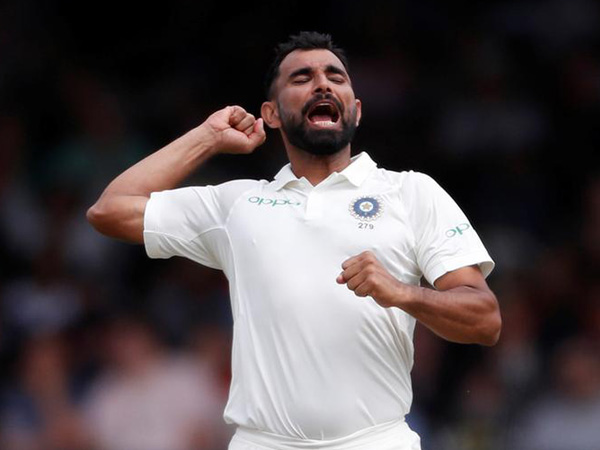 Indian pacer Mohammed Shami (ANI file picture)