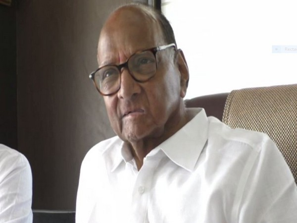 NCP chief Sharad Pawar addressing press conference in Yavatmal on Thursday