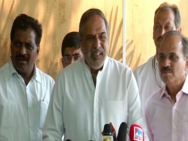 Congress leader Anand Sharma speaking to media in New Delhi on June 20.