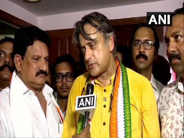 Congress leader Shashi Tharoor (ANI)