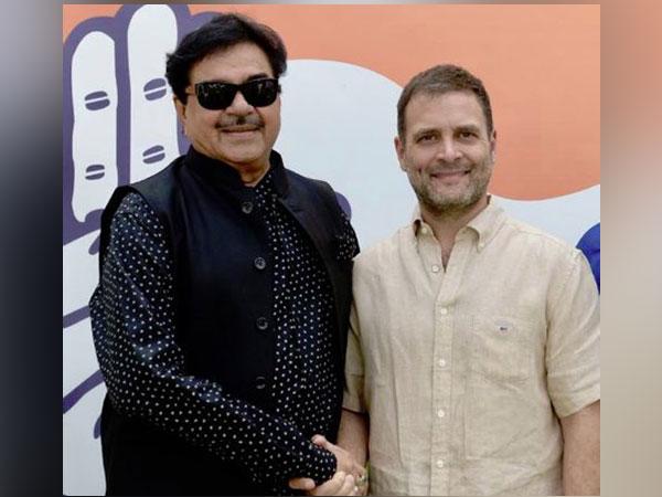 Shatrughan Sinha meeting Congress President Rahul Gandhi (File Photo)