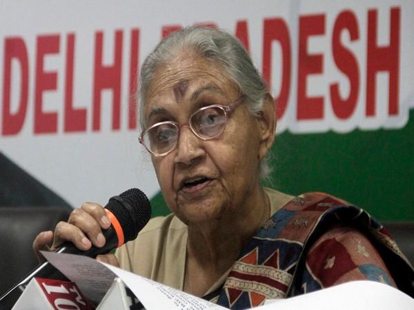 Delhi Congress chief Sheila Dikshit. File photo/ANI