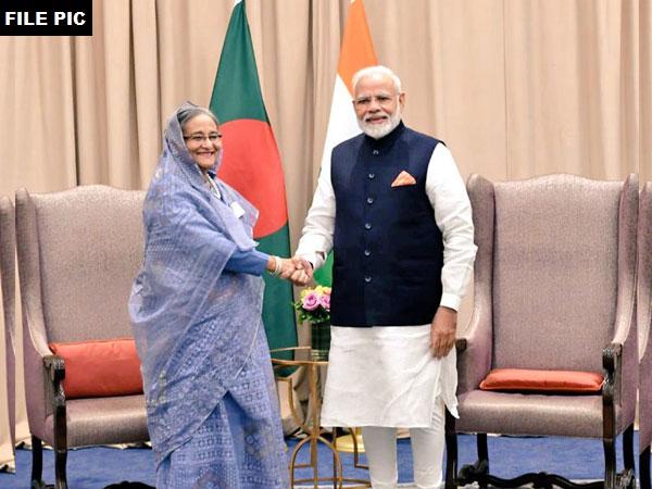 Bangladesh Prime Minister Sheikh Hasina and Prime Minister Narendra Modi