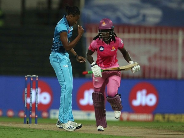 Supernovas bowler Shakera Selman (Image: BCCI/IPL)