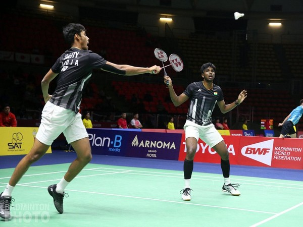 Satwiksairaj Rankireddy and Chirag Shetty (Photo/BAI Media)