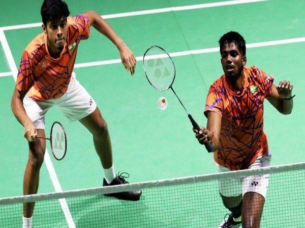 Men's doubles pair Chirag Shetty and Satwiksairaj Rankireddy (Photo/ SAI Media Twitter)