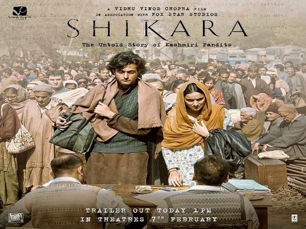 'Shikara' hit the theatres on Friday.