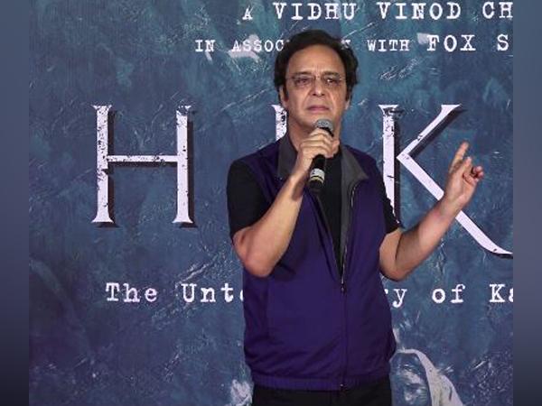 Director Vidhu Vinod Chopra during the screening of film 'Shikara' (Photo/ANI)