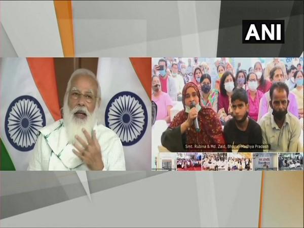 Prime Minister Narendra Modi addressing Janaushadhi Diwas celebrations on Sunday.