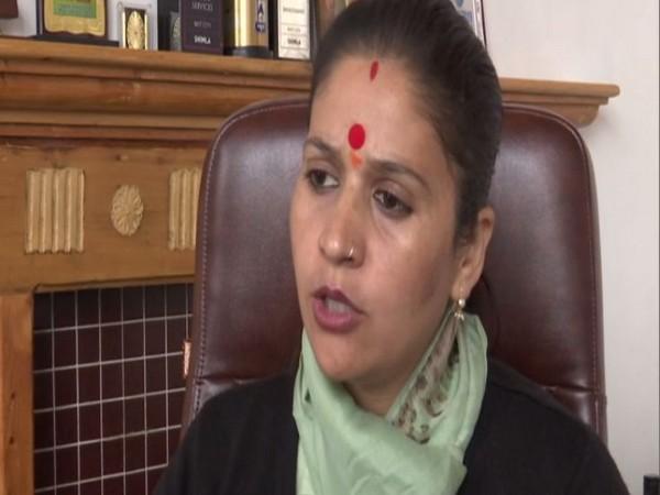 Kusum Sadret, Mayor Shimla talking to ANI on Saturday in Shimla