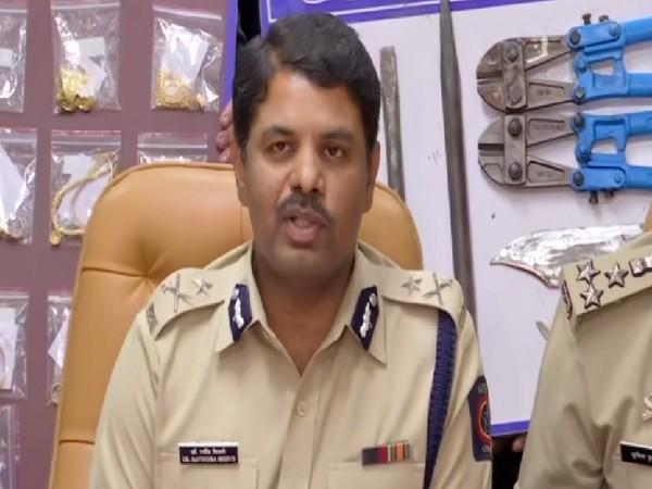 Joint Commissioner of Police Pune, Ravindra Shisve speaking to media on Wednesday.
