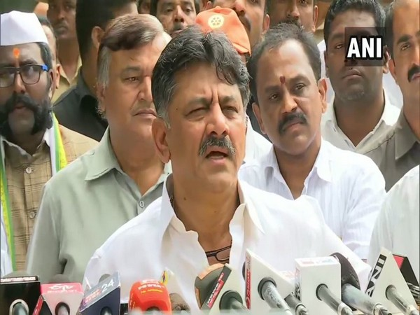 Congress leader D K Shivakumar (File photo)