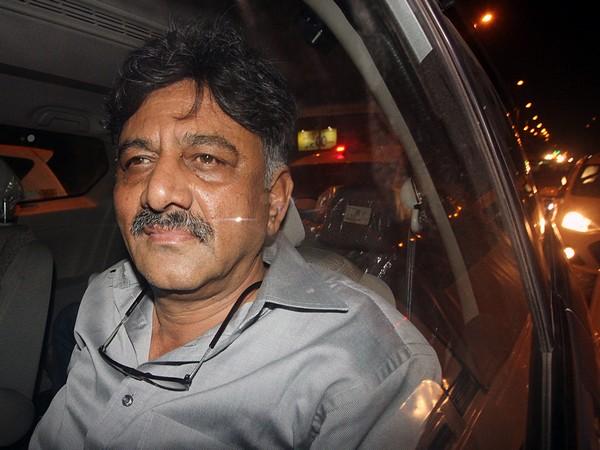 Senior Karnataka Congress leader DK Shivakumar is in ED custody in connection with an alleged money lundering case. (FiIe photo)