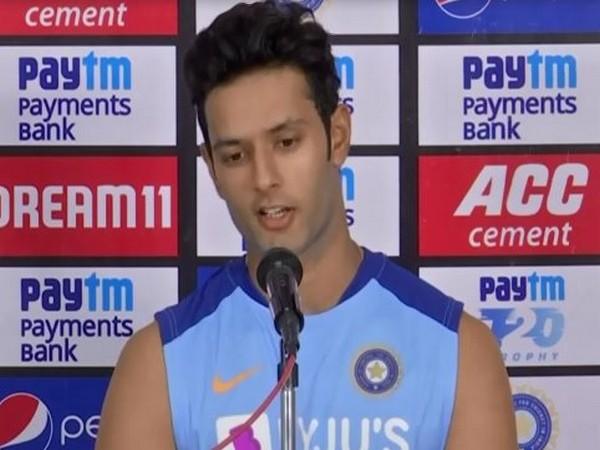 Indian cricketer Shivam Dube