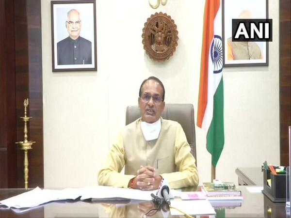 Madhya Pradesh Chief Minister Shivraj Singh Chouhan speaking to ANI on Tuesday.
