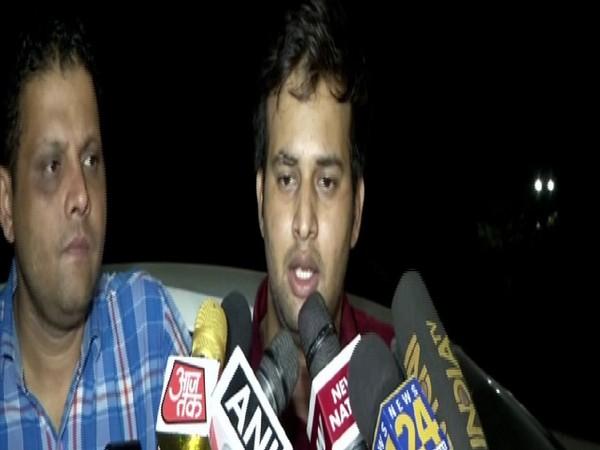 Victim Arvind Kumar (left) and Siddharth Purohit (right)