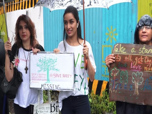 Shraddha Kapoor at the protest