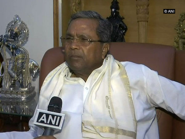 Congress leader Siddaramaiah. File photo/ANI