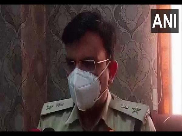 Superintendent of Police Siddharth Bahuguna speaks to ANI in Jabalpur on Monday. (Photo/ANI)