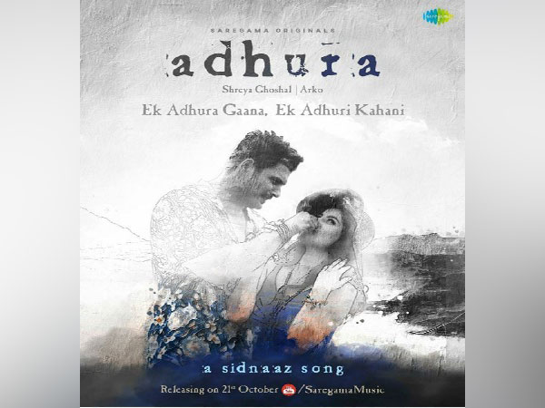 Poster  of Adhura song (Image source: Instagram)