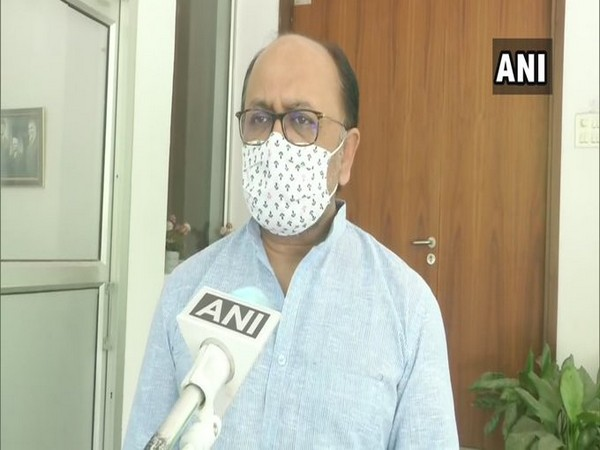 Uttar Pradesh Minister Siddharth Nath Singh speaking to ANI in Lucknow on Tuesday. (Photo/ANI)