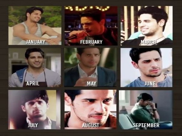 Collage of pictures shared by Sidharth Malhotra (Image courtesy: Instagram)