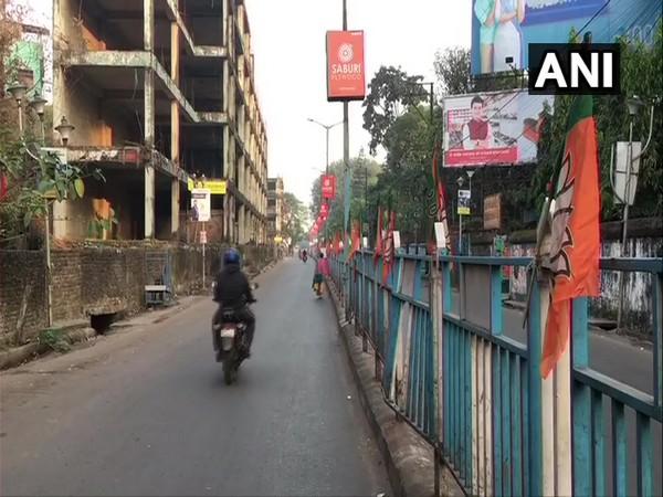 In Siliguri BJP called a 12-hour bandh on Tuesday. (Photo/ANI)