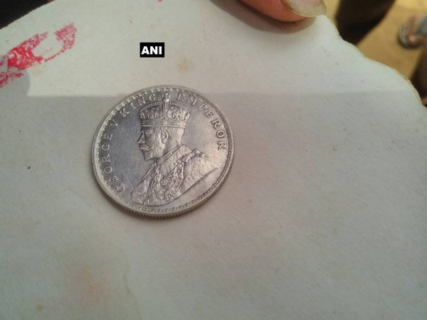 The coins have some Arabic inscription over them and the exact period that they belong to couldn't be ascertained.