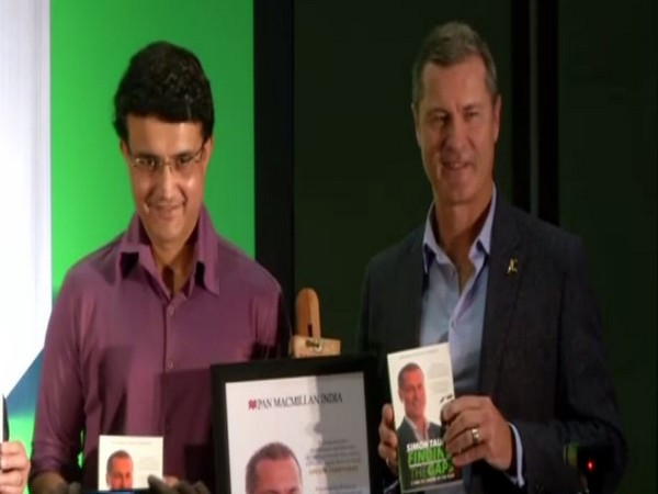 Sourav Ganguly and Simon Taufel
