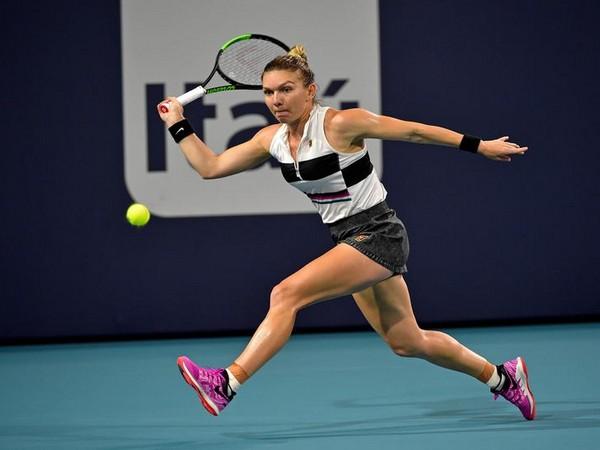 Romanian tennis player Simona Halep