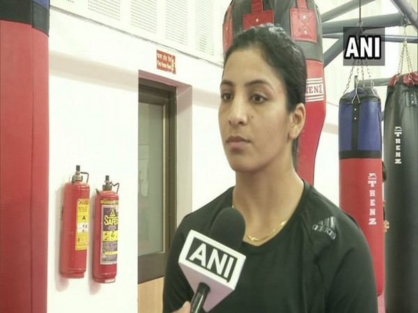 Indian boxer Simranjit Kaur in conversation with ANI