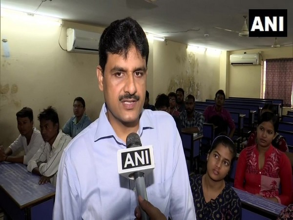 Ajay Bahadur Singh speaking to ANI in Bhubaneswar. Photo/ANI