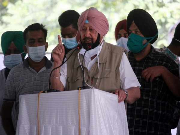 Punjab Chief Minister Captain Amarinder Singh (File photo)