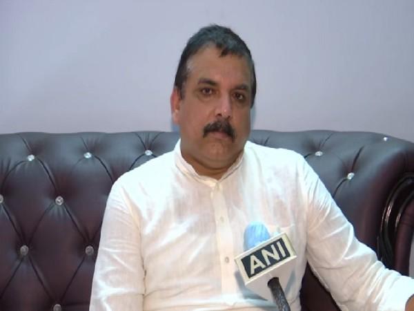 Rajya Sabha MP Sanjay Singh. (File photo)