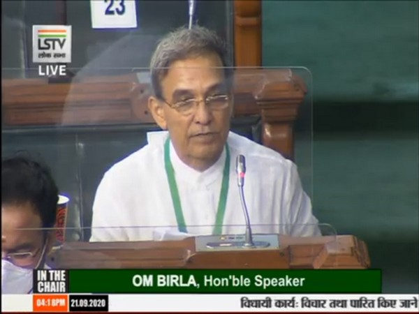 BJP MP Satya Pal Singh speaking in Lok Sabha on Monday.