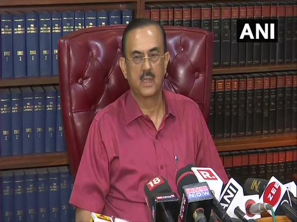 Vikash Singh speaking to reporters in New Delhi on Friday.