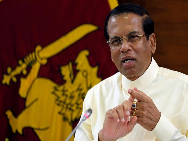 File photo of Sri Lanka President Maithripala Sirisena