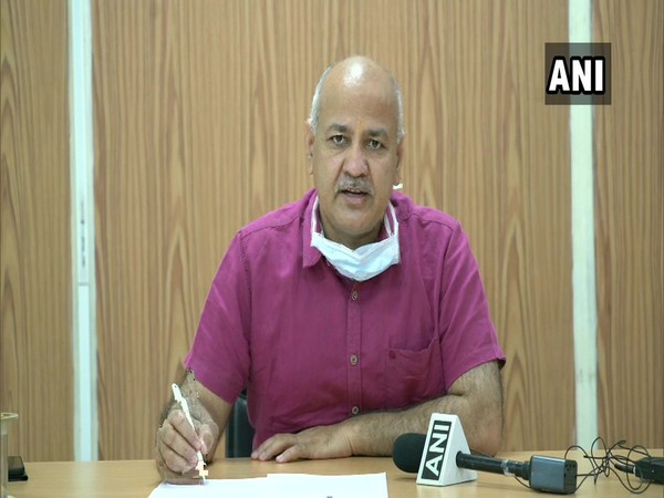 Deputy Chief Minister Manish Sisodia addressing a press conference in New Delhi on Sunday. [Photo/ANI]