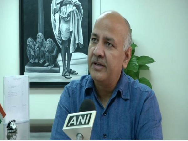 Manish Sisodia speaking to ANI in New Delhi on Thursday. Photo/ANI